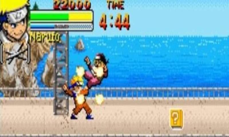 火影忍者最新作终于再次登陆gba。忍术全... 火影忍者最新作终于再次登陆gba。忍术全开采用4人混战的方式,使战斗更加激烈。本次的战斗是2D格斗,和忍列传不同,和 家庭教师 Hitman Reborn!DS火焰对战X 未来超爆发相似。本作的故事从佐助杀害大蛇丸直到佐助打倒他的哥哥宇智波鼬的故事内容后结束。总共有16个人物,也首次使用查克拉系统,战斗前玩家可为人物选择忍术,于战斗中使用。 合理运用道具,帮你刷新更高的记录,登上全球高分榜.