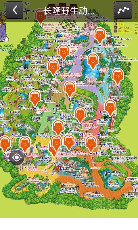 长隆电子地图